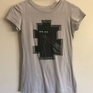 Minecraft Enderman T-shirt size Small
